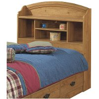 Prairie South Shore Twin Bookcase Headboard Rc Willey Furniture Store