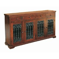 Sea Island Dark Brown Sideboard