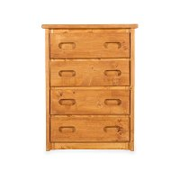 Rustic Cinnamon Brown Chest of Drawers - Palomino