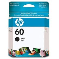 HP-60 HP 60 Black Ink