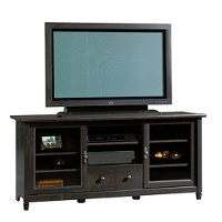 55 Inch Black TV Stand - Edge Water