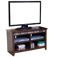 42 Inch Dark Oak TV Stand - Oxford