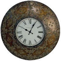 three hands corp metal wall clock rc willey furniture store