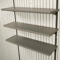 0130 Lifetime Products 3 Piece 30 Inch Shelf Kit for 8 ft. Sheds