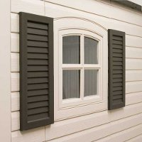0111 Lifetime Products Shutters Kit for 8 ft. and 11 ft. Wide Sheds