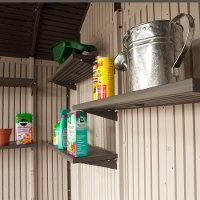 0115 Lifetime Products 5 Piece Shelf Kit for 11 ft. Wide Sheds