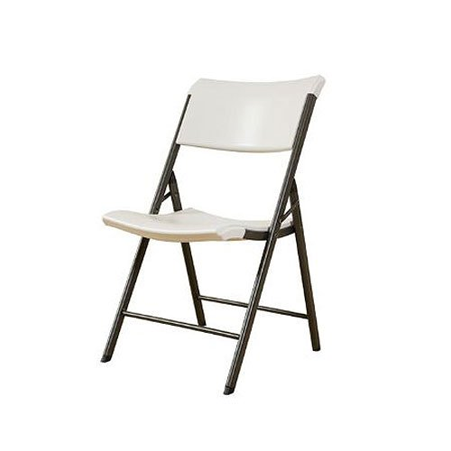 Lifetime Products Almond 32-Pack Heavy Duty Folding Chairs