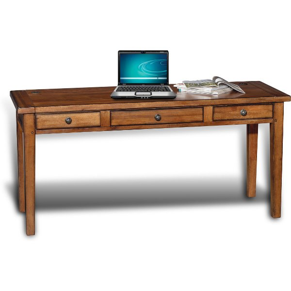 Modern Wood Writing Desk Cross Country