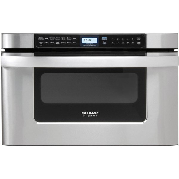 Kb 6524psy Sharp 24 Inch 1 2 Cu Ft Microwave Drawer Stainless Steel
