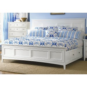 White Bed Frames With Storage rc willey sells quality wood beds for kids rooms