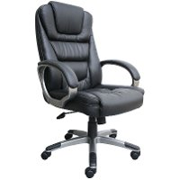 Black Executive LeatherPlus Office Chair