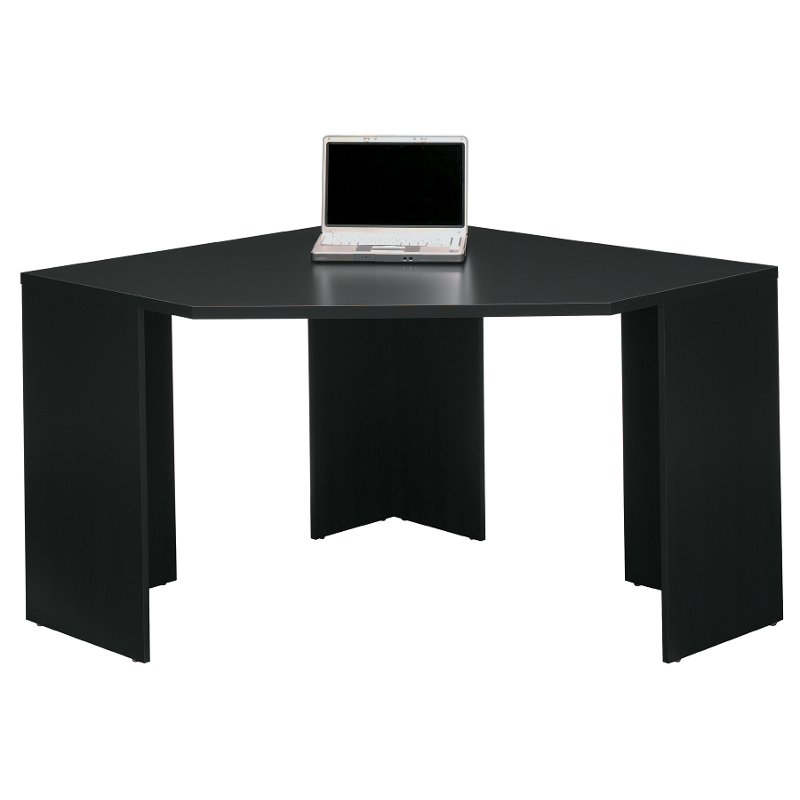 Black Wood Corner Desk Stockport