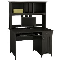 Salinas Bush Furniture Desk and Hutch