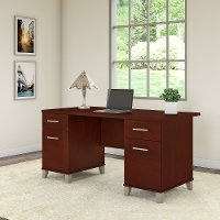Hansen Cherry Desk (60 Inch) - Somerset