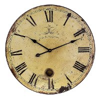 Cream Large Wall Clock