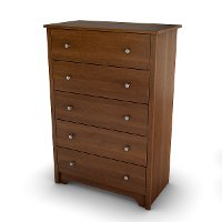 3156035 Cherry 5-Drawer Chest - Vito