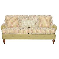 80 floral upholstered sofa rc willey furniture store for 80s floral couch