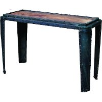 Boston industrial console table rc willey furniture store for Sofa table rc willey