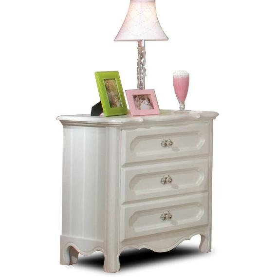 Adrian White Nightstand