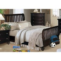 Rivers Edge Full Sleigh Bed Rc Willey Furniture Store