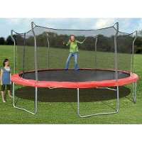 15TRAMPOLINE Propel 15 Ft. Trampoline with Enclosure