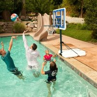 1306 Lifetime 44 in. Portable Poolside Basketball Hoop