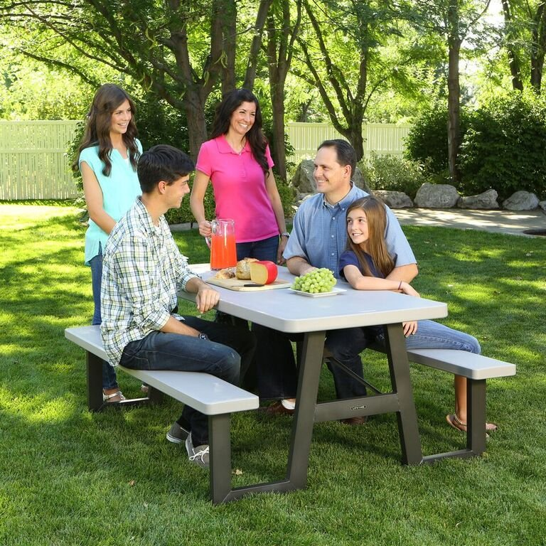 Lifetime 6 Foot A-Frame Folding Picnic Table