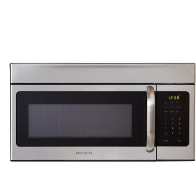 Ffmv164ls Frigidaire 30 Stainless Steel 1 6 Cu Ft Over The Range Microwave