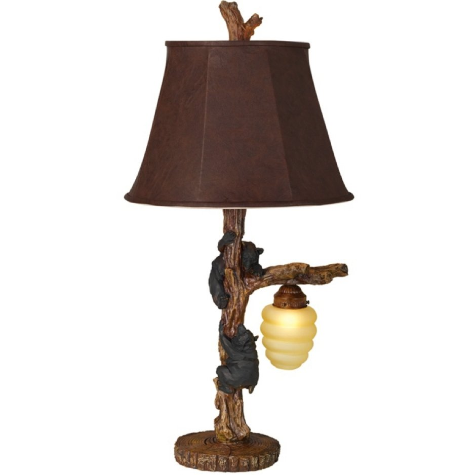 Bear with honey light table lamp rc willey furniture store geotapseo Choice Image