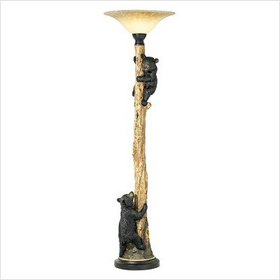 Great Bear And Tree Floor Lamp