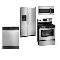 SS-4PC-ELE-KITPACK Frigidaire 4 Piece Kitchen Appliance Package with Electric Range