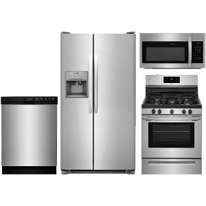 Ge Kitchen Suite Kitchen appliance packages rc willey furniture store ss 4pc gas kitpack frigidaire 4 piece gas kitchen package stainless steel workwithnaturefo