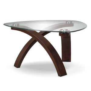 ... Magnussen Modern Glass Coffee Table   Allure