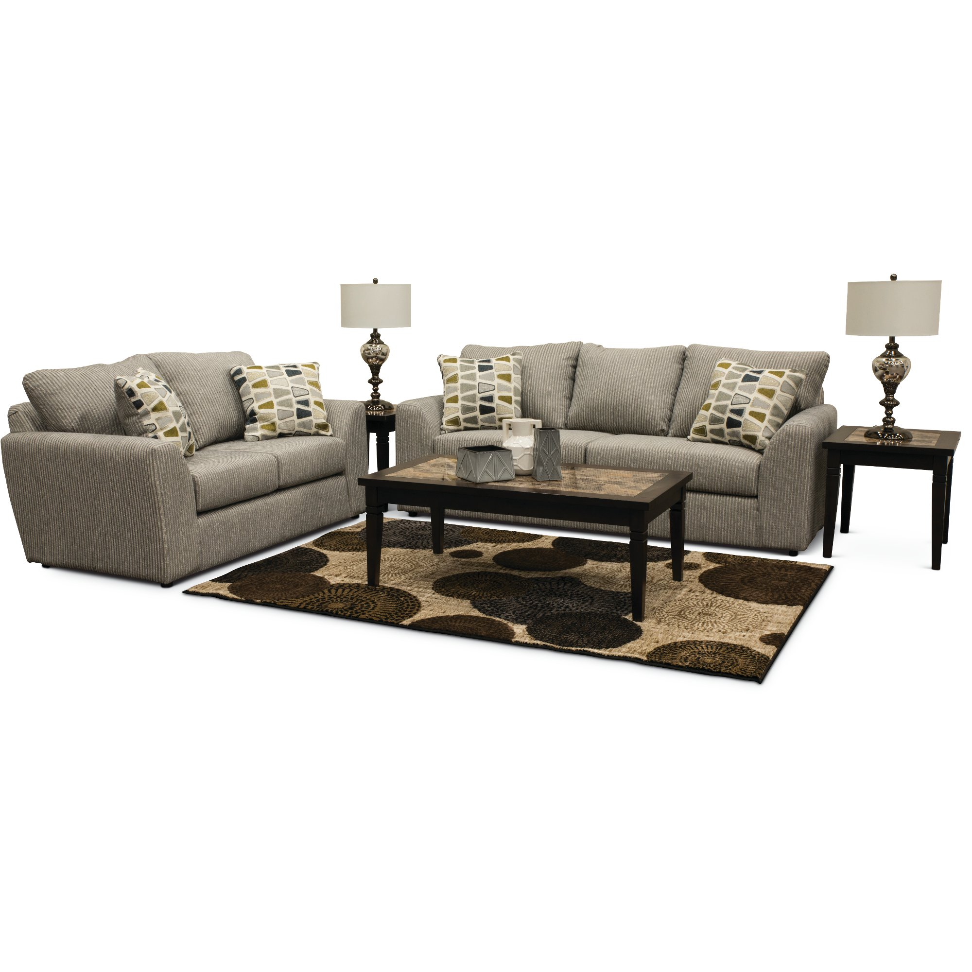 Wood & Marble 3 Piece Coffee Table Set | RC Willey Furniture Store