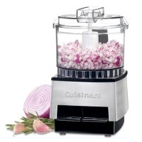 DLC-1SS Cuisinart Mini-Prep Food Processor - Stainless Steel and Black