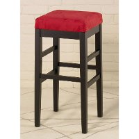 Red Counter Height Stool (26 Inch) - Sonata