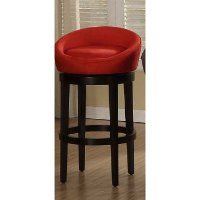 Igloo Ebony Red 26 Quot Swivel Counter Stool Rc Willey