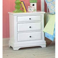 Classic White Nightstand - Bayfront