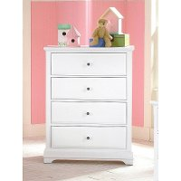 Classic White Chest of Drawers - Bayfront