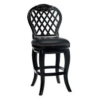 61919 Black Honey 26 Inch Counter Height Stool - Braxton