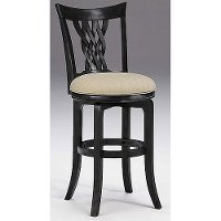 4808-822 Black 24 Inch Counter Height Stool - Embassy