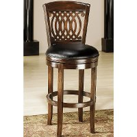 60955 Tobacco 24 Inch Swivel Counter Stool - Vienna