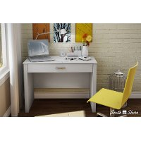 7050795 White Secretary Desk - Work ID
