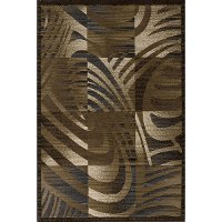5 x 8 Medium Transitional Brown Area Rug - Dream