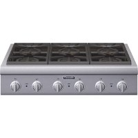 PCG366G Thermador 36 Inch Range Cooktop - Stainless Steel