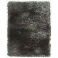 5 x 8 Medium Gray Shag Rug - Indochine