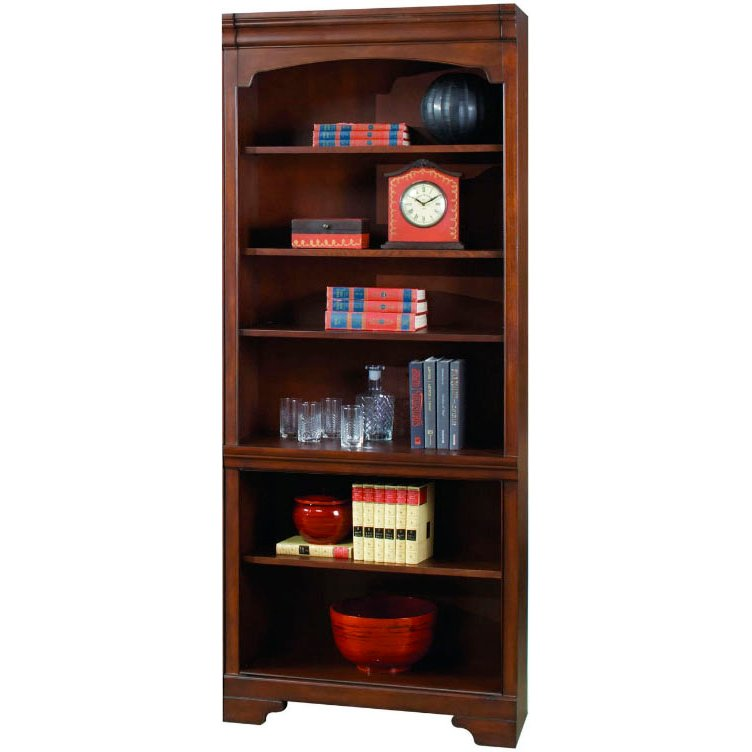 Cherry Brown Open Bookcase - Richmond Collection