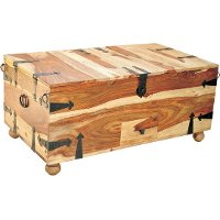 Rustic Tahoe Trunk Coffee Table