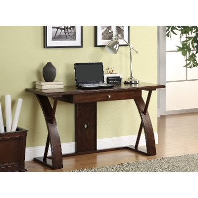 Chocolate Brown Corner Desk With File Cabinet Super Z
