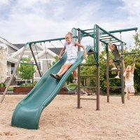 90143 Lifetime Products Monkey Bar Swing Set